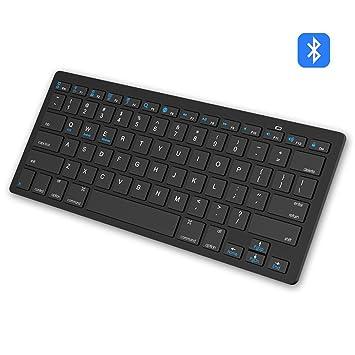 Teclado Bluetooth, EONANT Teclado Inalámbrico Ultra Delgado para iPhone, iPad iPad Pro, iPad