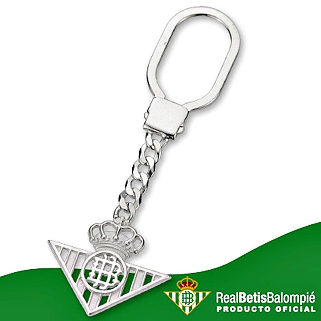 Llavero escudo Real Betis plata de ley calado [8622 ...