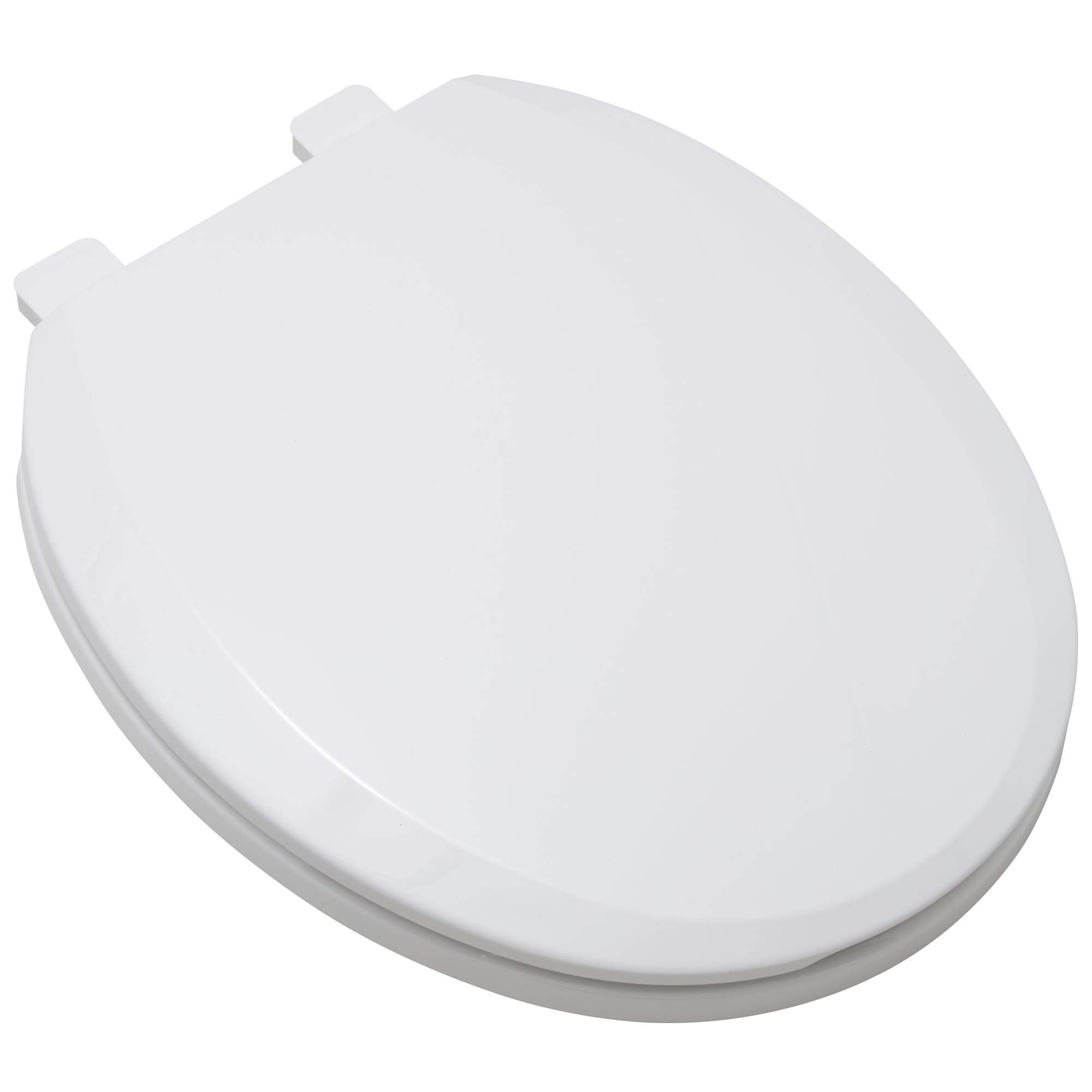 ProFlo PFTSEC1000WH Round Closed Front Toilet Seat with Slow Close Lid and Easy Clean by ProFlo