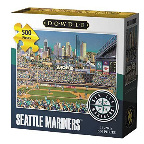 Dowdle Folk Art Seattle Mariners Jigsaw Puzzle (500  Pieces)