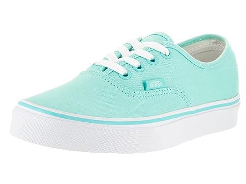 Vans Unisex Authentic Aruba Blue/True White Skate Shoe 8 Men US / 9.5 Women US