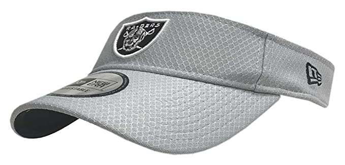 Image Unavailable. Image not available for. Color  New Era 2018 NFL Oakland  Raiders Training Camp Visor ... a7f67dd8f