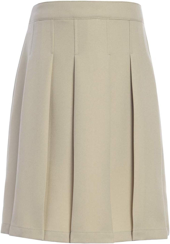 Tommy Hilfiger Solid Pleated Skort, Kids School Uniform Clothes for Little & Big Girls: Clothing