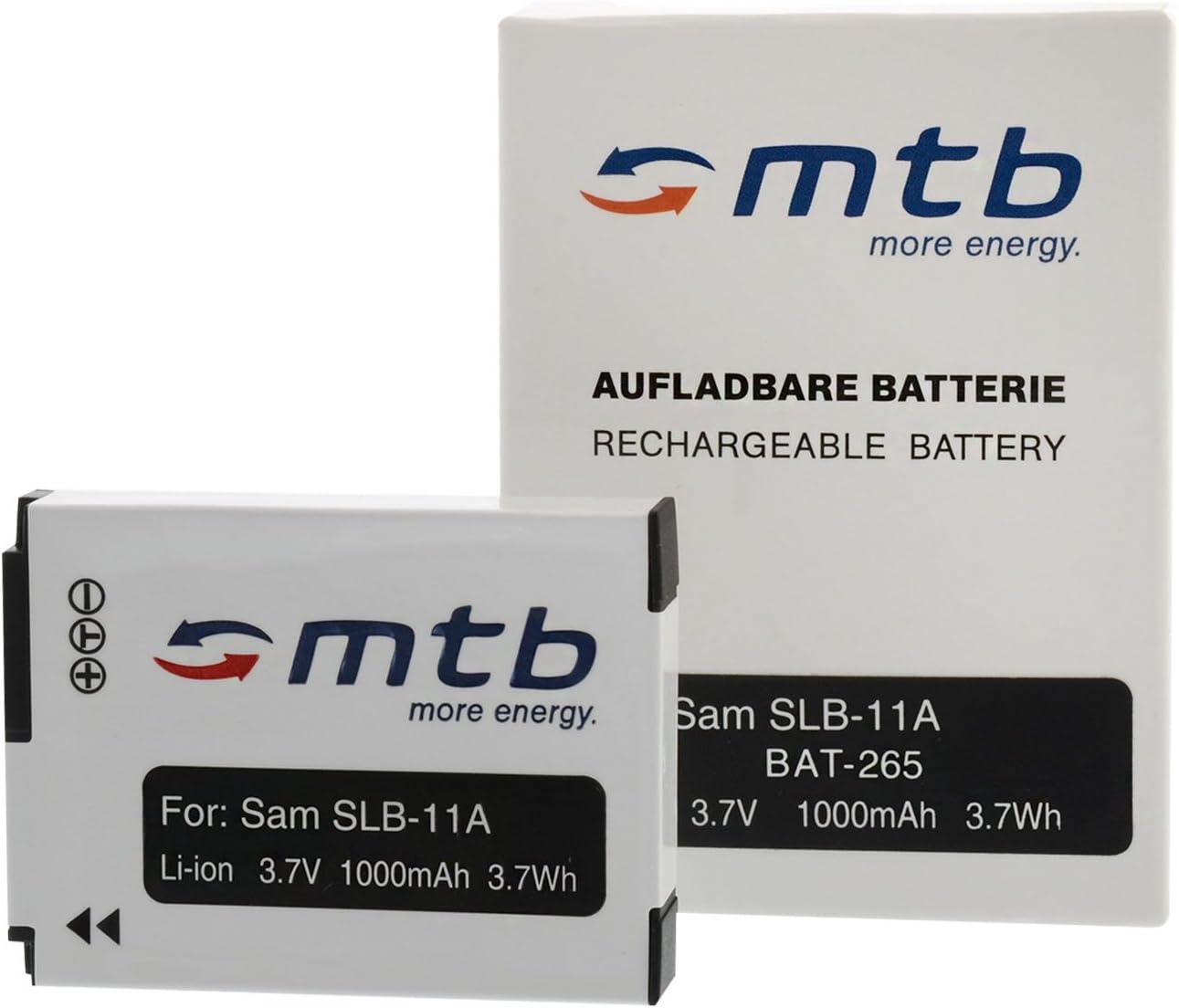 HZ50W Ver Lista! Coche//Corriente 2 Bater/ìas para Samsung SLB-11A // EX1 WB5500 TL500 Cargador