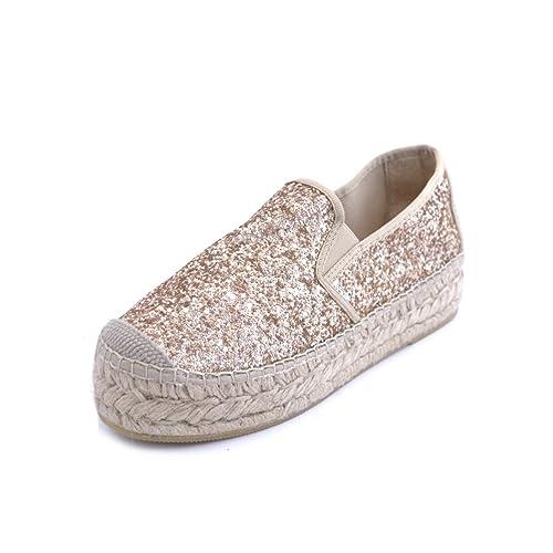 Vidorreta - Alpargatas para Mujer Dorado Dorado Dorado Size: 40: Amazon.es: Zapatos y complementos