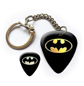 Llavero de púa de púa para guitarra de Batman Pearlescent ...
