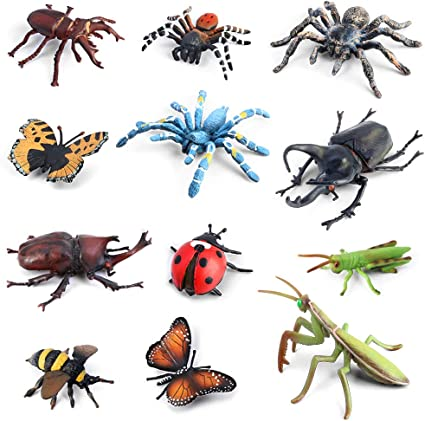 Image result for plastic bug toys