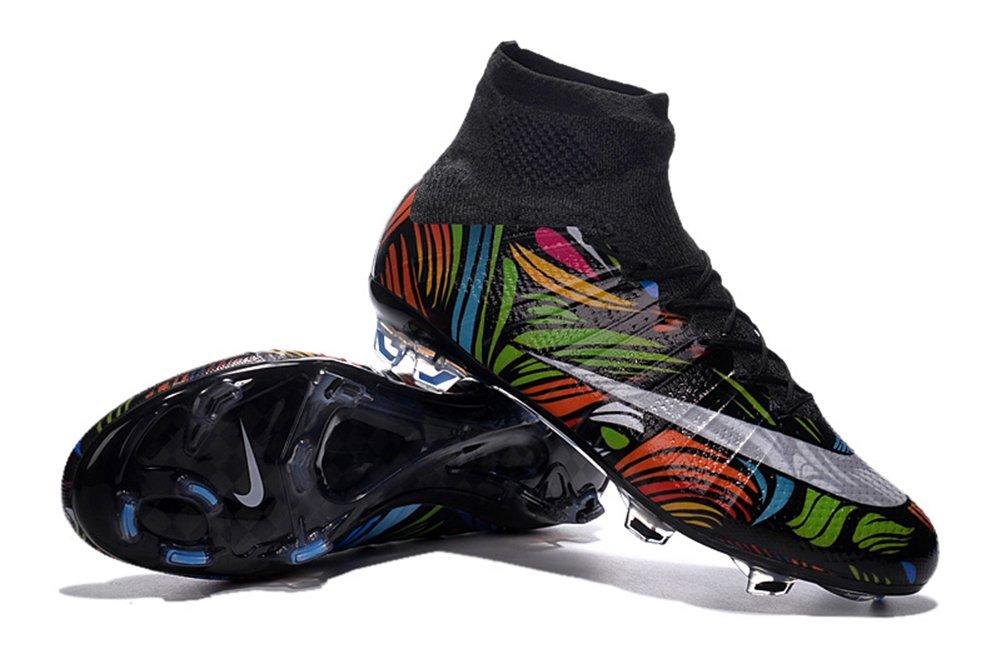 demonry Schuhe Herren Rainbow Mercurial Superfly FG Fuszlig;ball Fuszlig;ball Stiefel  45