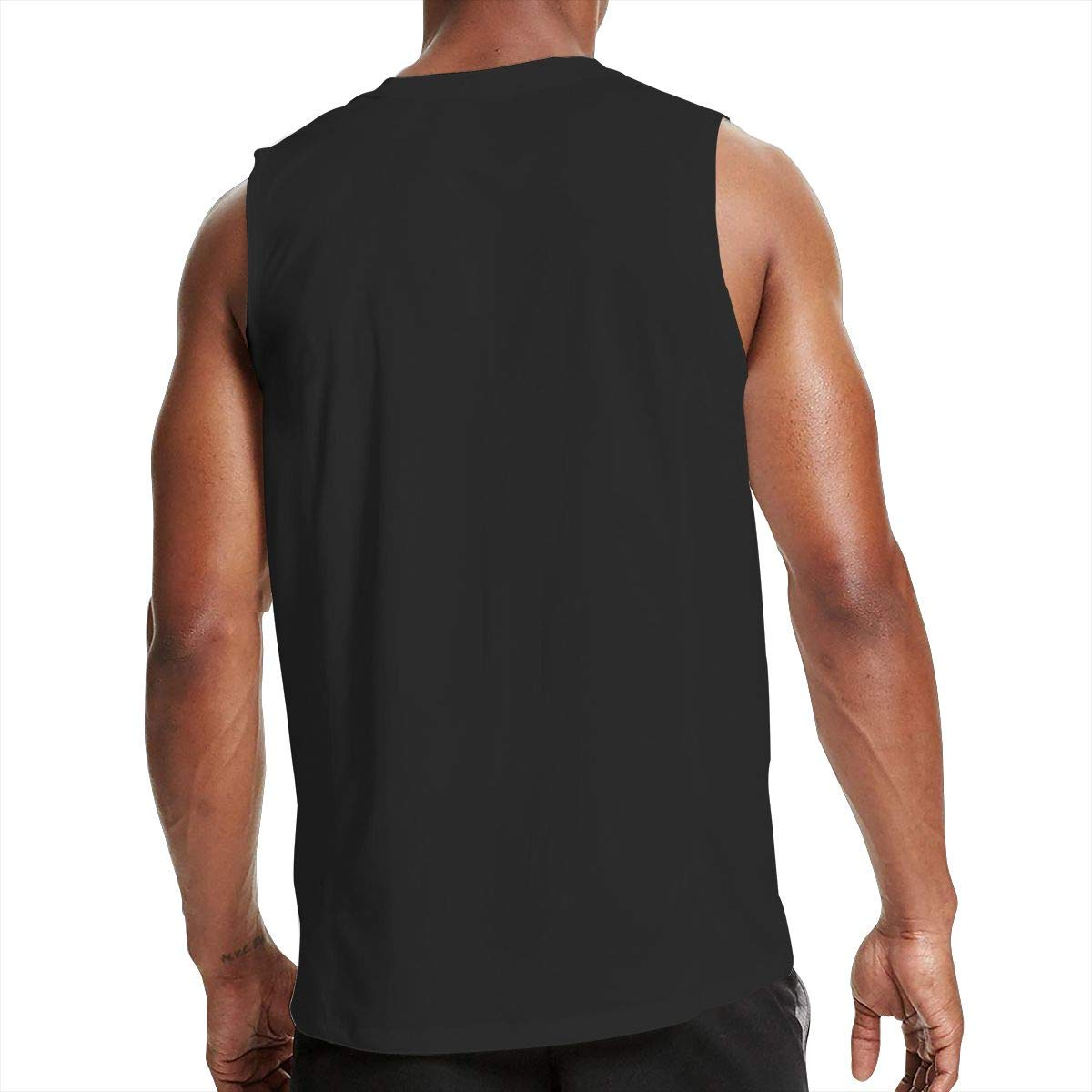 NRYDYMM Mens Sleeveless T Shirt Three Percenter 1776 100/% Cotton Bodybuilding T Shirt
