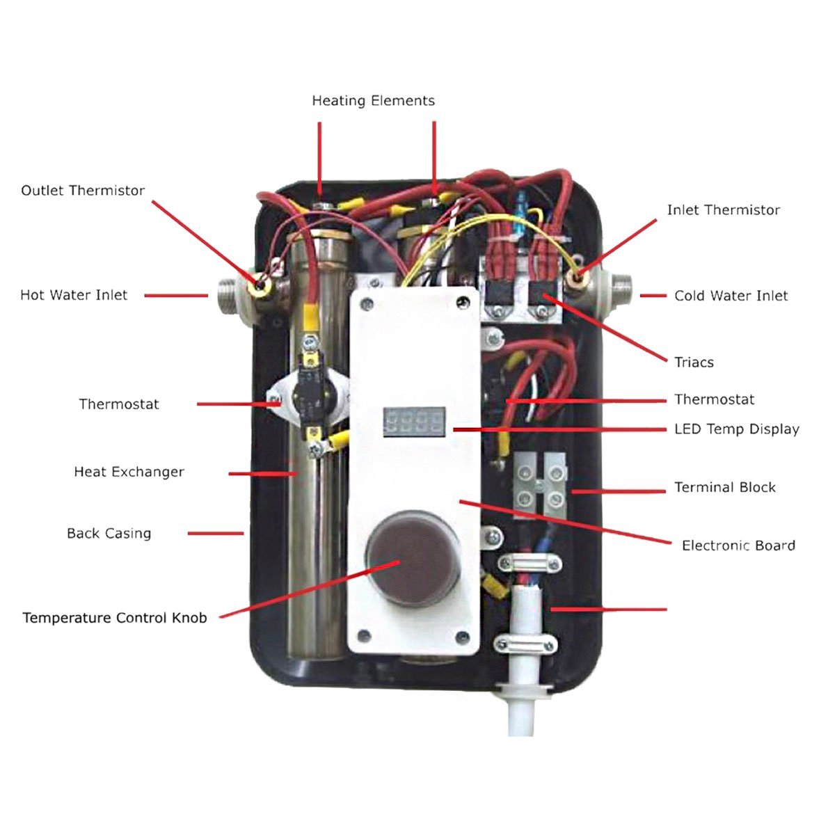 Marvelous Eemax Homeadvantage Ii Residential Tankless Electric Hot Water Wiring 101 Eumquscobadownsetwise Assnl