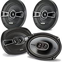 Kicker Dodge Ram Truck 1994-2011 speaker bundle - KS 6x9 coaxial speakers, and KS 5.25 coaxial speakers.