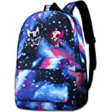 Lhdesign Tokyo 2020 Mascot Starry Sky Bags For Unisex