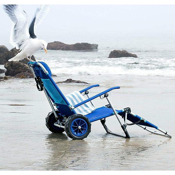 Amazon.com: MRT SUPPLY - Sillón de playa plegable y carrito ...