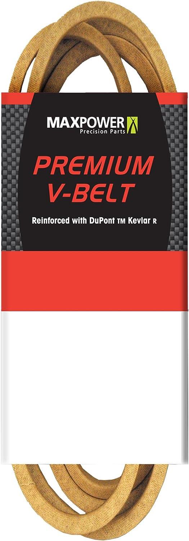 "MaxPower 347574 Premium Belt Reinforced with Kevlar Fiber Cords, 5/8"" x 29"""