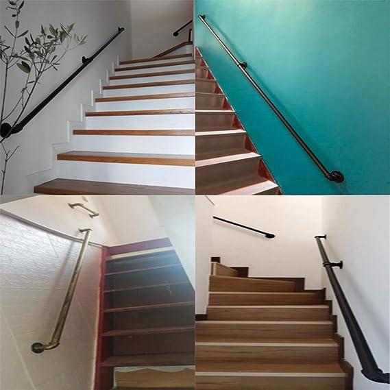 Amazon.com: Kira - Juego de barandillas de escalera de acero ...