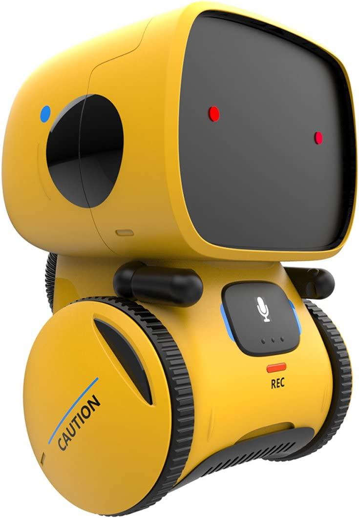 REMOKING Robot Toy, Educational Stem Toys Robotics for Kids,Dance,Sing,Speak Like You,Recorder,Touch Control,Voice Control,Your Kids Partner