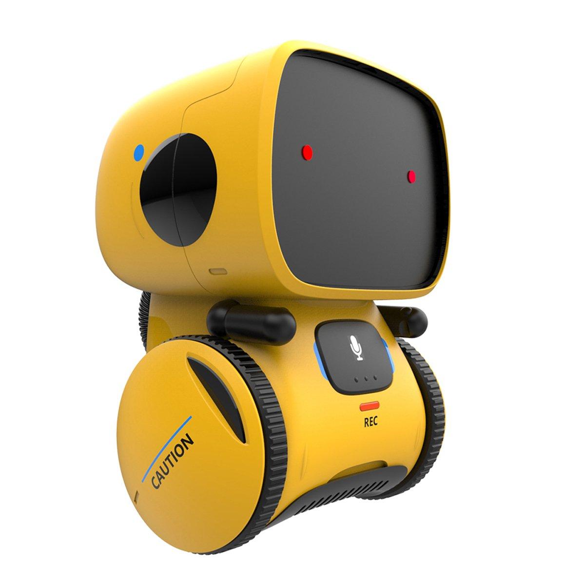 Remoking Robot Toy, Educational Stem Toys Robotics für Kids,Dance,Sing,Speak Like You,Recorder,Touch und Voice Control, Gifts für Kids