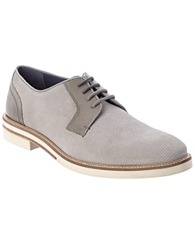 e54cd9a94dd6 Ted Baker Men s Siablo Light Grey Suede 7.5 D US