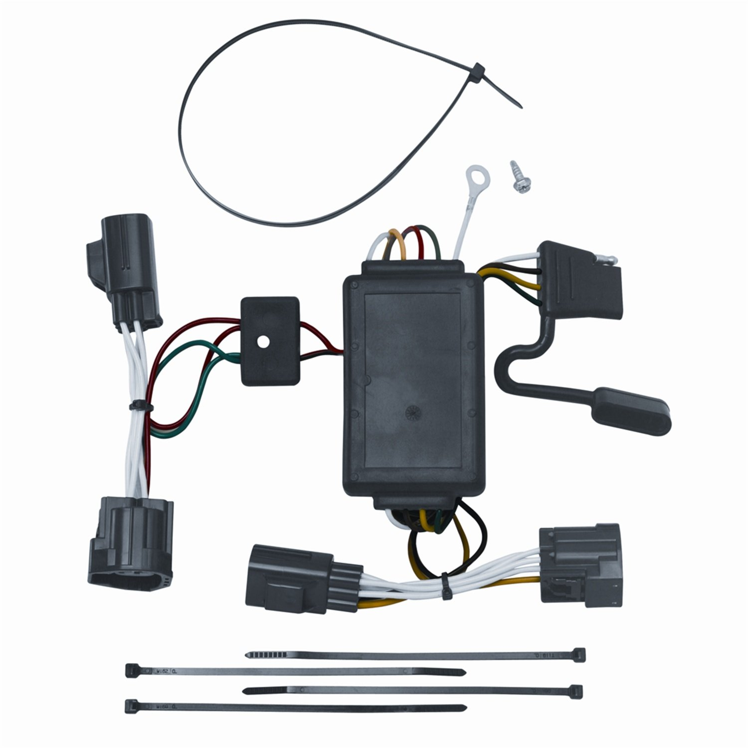 Amazon.com: Vehicle To Trailer Wiring Harness Connector For 07 Dodge Nitro  Plug Play: Automotive