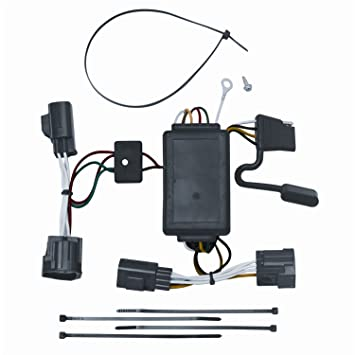61xi9UPQt4L._SY355_ amazon com vehicle to trailer wiring harness connector for 07 2007 dodge nitro trailer wiring diagram at crackthecode.co