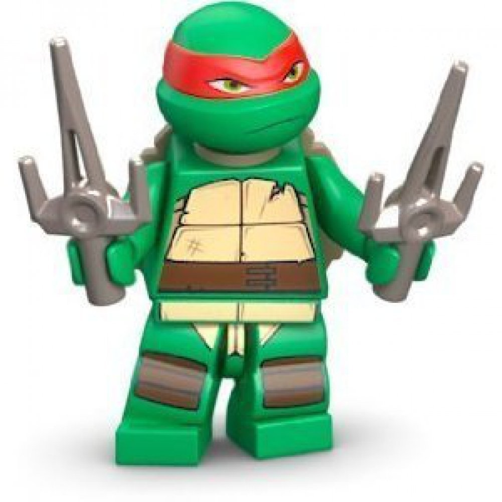 Amazoncom Lego Teenage Mutant Ninja Turtles Raphael Toys  Games