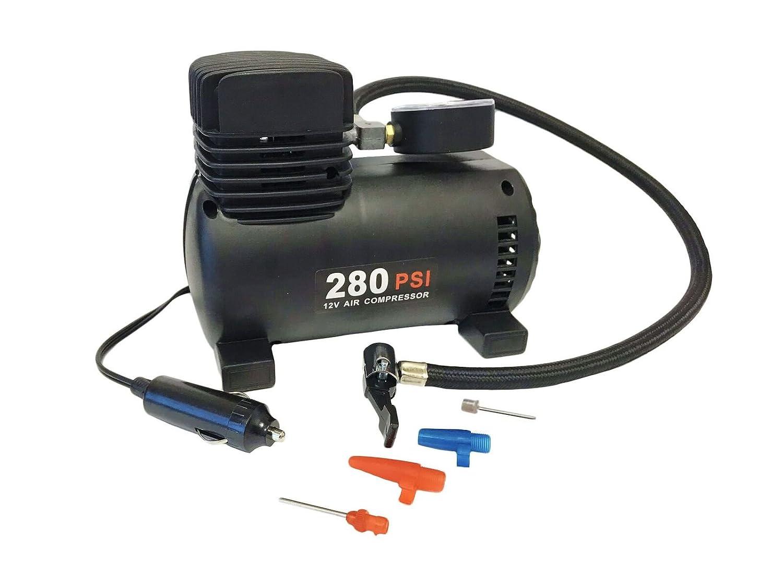 280 psi 12v Mini Air Compressor Bike Pump