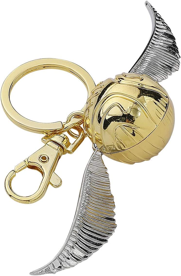 Harry Potter Gold Snitch Pewter Key Ring