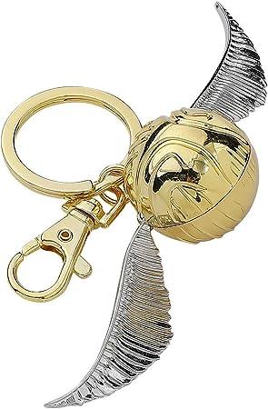 Amazon.com: Llavero de estaño de snitch dorada de ...