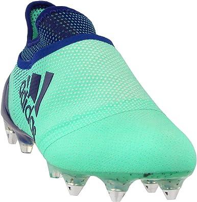 marioneta audición Refinamiento  Amazon.com: adidas X 17+ Purespeed Soft Ground Soccer Athletic Cleats -  Botas de fútbol para hombre, color verde, 12,5: Shoes