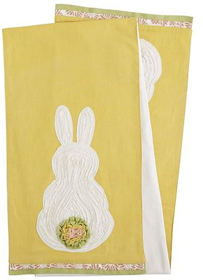 Ruffled Bunny Table Runner | Pier 1 Imports