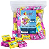 Nerds Candy Mini Boxes - Wonka Nerds Candy , Strawberry and Lemonade Wild Cherry Assortment, 3 LB Bulk Candy