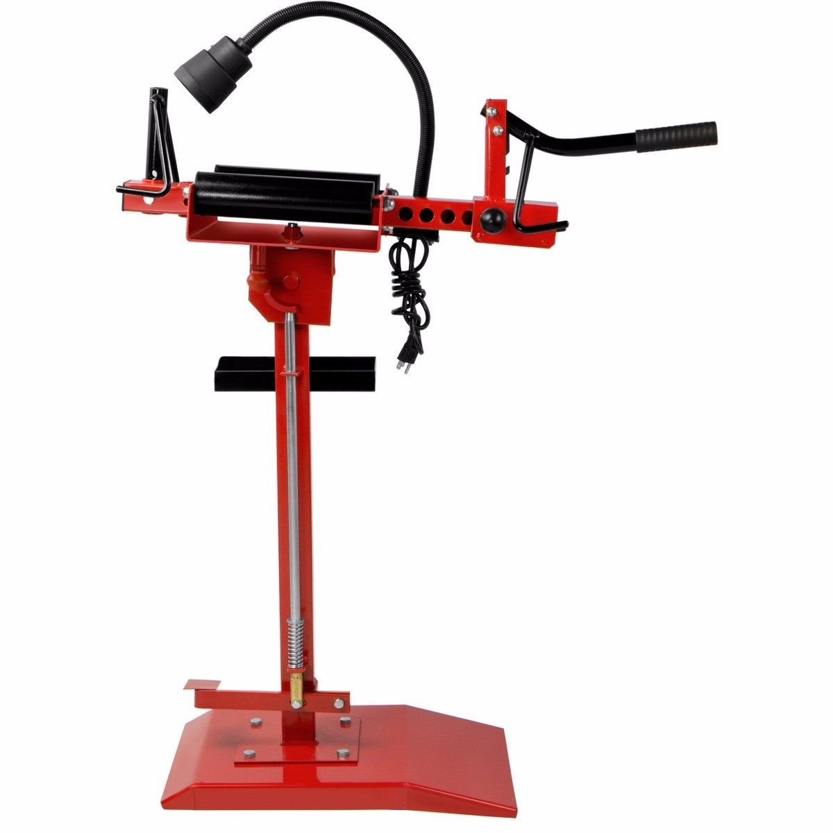 Red 7 Speed Control Swivel Spreader Tire Changer w/ Tools Tray