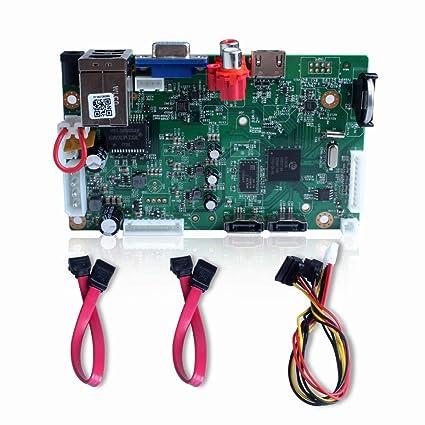 BESDER CCTV NVR Board HI3536C 2 SATA Ports ONVIF Security