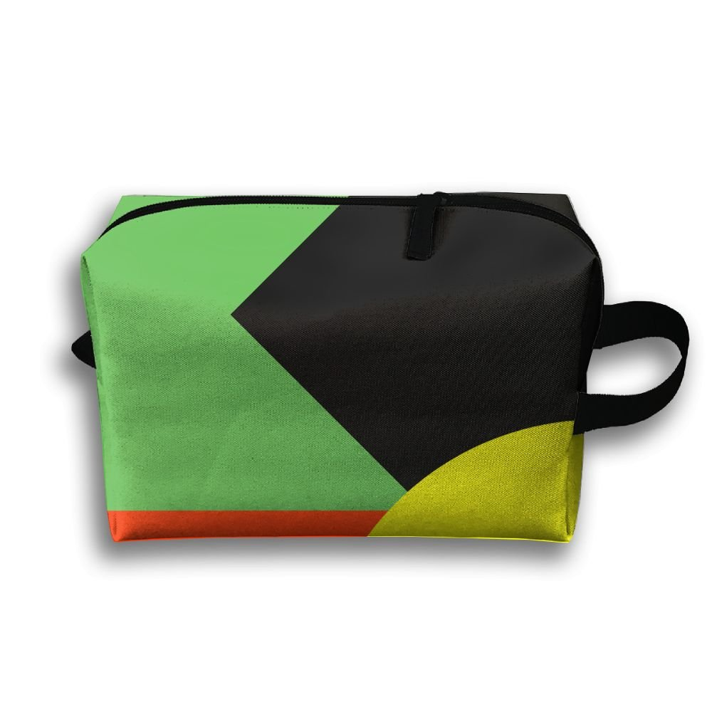 4eedf555290a41 Black Yellow Green Red Geometry Multifunction Portable Pouch Waterproof  Travel Bag 50%OFF