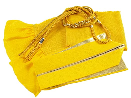 四ッ巻絞り 振袖用 3点セット h-357 黄緑 帯揚げ・帯締め・重ね衿 正絹