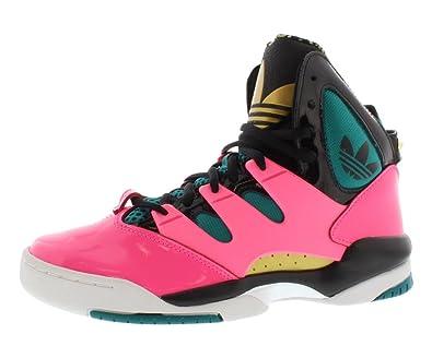 4bb6a0c39fe6c ADIDAS GLC Women Shoes Ultrapop Pink Teal Gold Black Q32922 (SIZE
