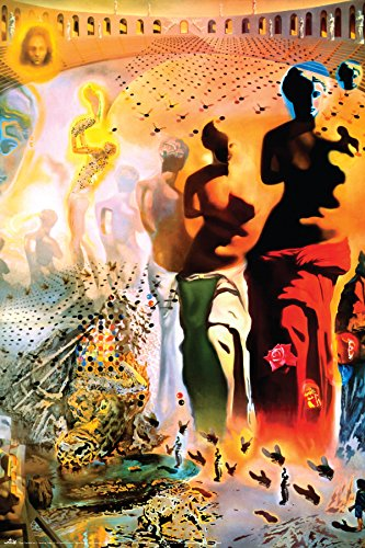 (BEYONDTHEWALL Archive Salvador Dali Hallucinogenic Toreador Surrealist Fine Art Print (24x36 Unframed Poster))