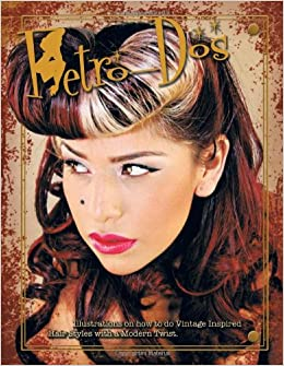 Retro Dos Illustration On How To Do Vintage Inspired Hair Styles