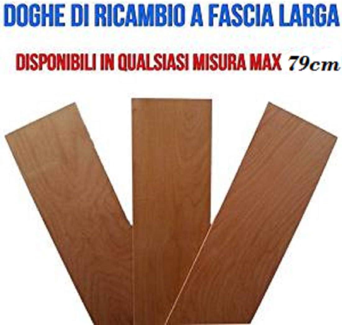 RETI DAMORA Láminas de Listones de 79 x 17 cm para Cama Individual