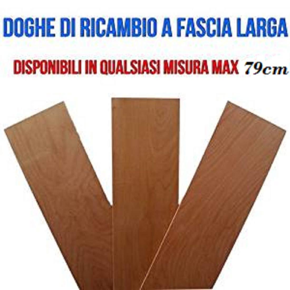 DOGHE DOGA per Ricambio A Fascia Larga 790x170mm in Legno di FAGGIO ...