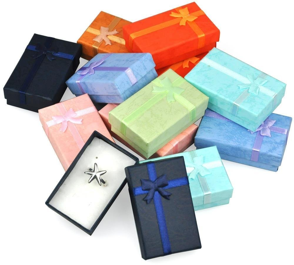 World Pride 12pcs Assorted Jewelry Gifts Boxes for Jewelry Display WP-869551