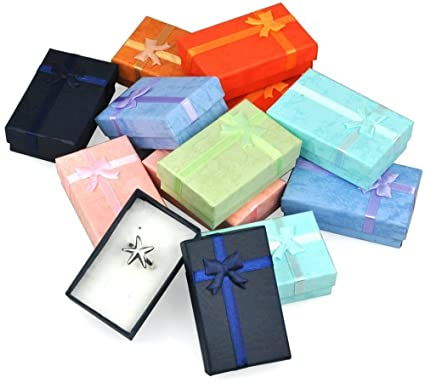 World Pride 12pcs Assorted Jewelry Gifts Boxes For Jewelry Display