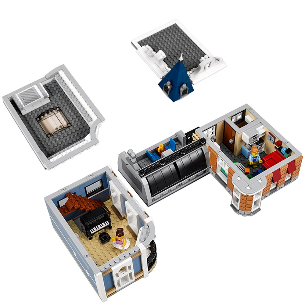 LEGO Creator Expert ASSEMBLY Square 10255...