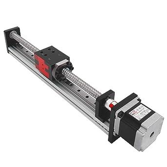 Famus 500mm Stroke Linear Guide Rail Slide Table with Nema17 42 Stepper Motor Aluminum Alloy 1610
