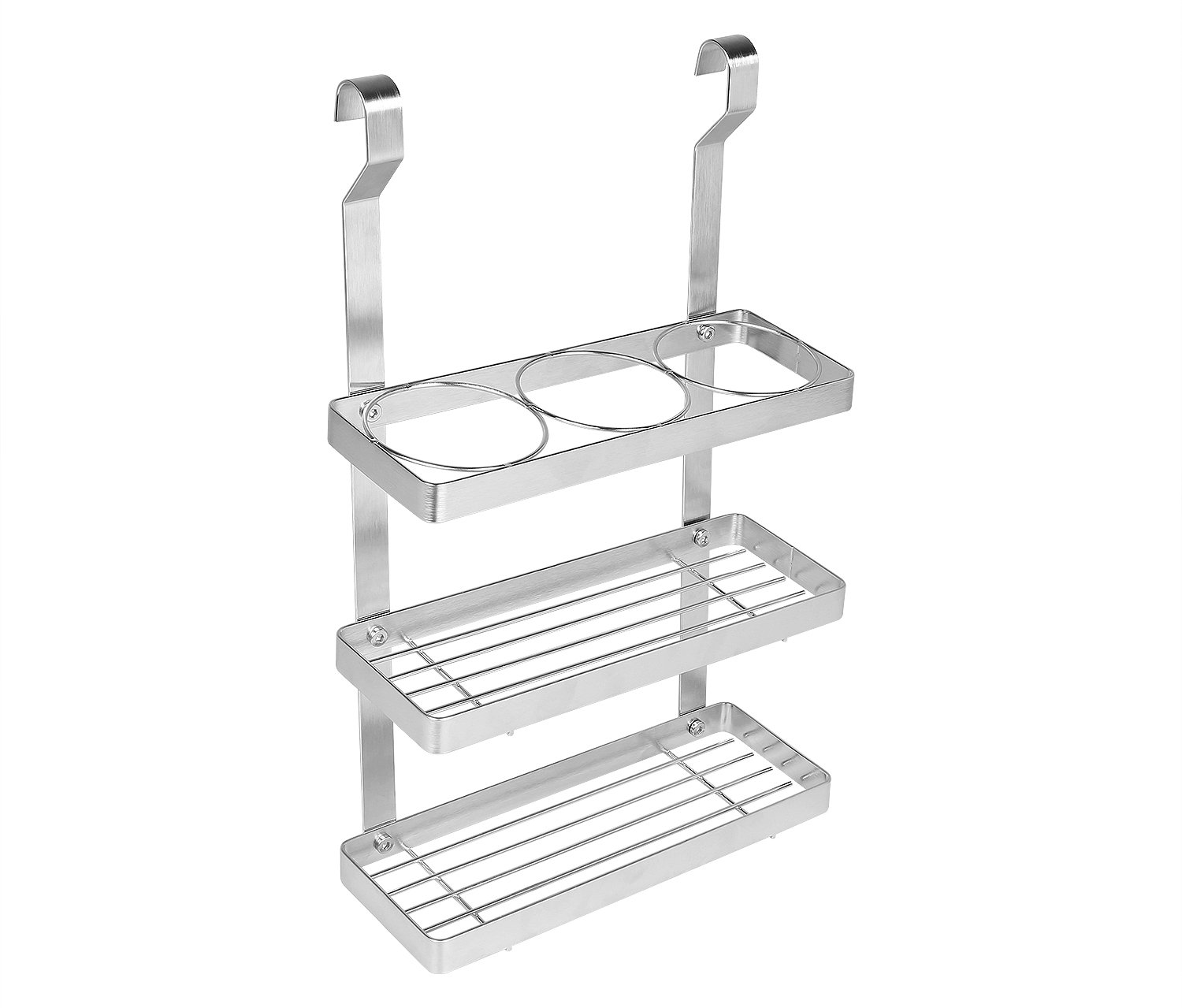HLC 3-tier Stainless Steel Condiment Shelf Best for Kitchen