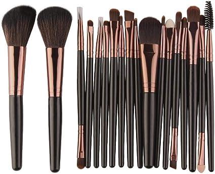 MEIYY Pincel De Maquillaje 18 Unids/Pack Pinceles De Maquillaje ...
