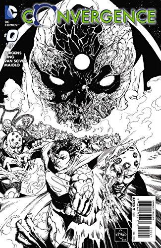 Convergence #0 Van Sciver 1:10 Black & White Variant Comic Book for $<!--$6.60-->