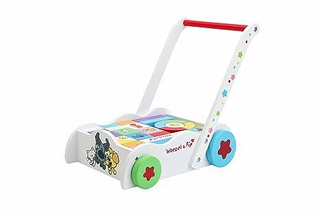Woezel & Pip - Carrito andador con juegos para bebé, incluye ...