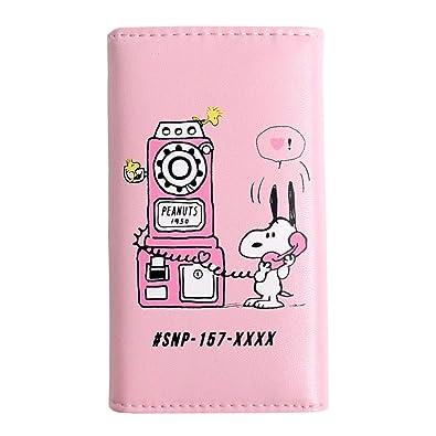 Amazon キーケース かわいい スヌーピー おしゃれ ピンク 鍵入れ