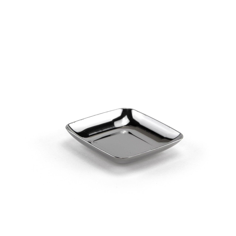 Set de platos, High Class de plástico, desechables - Plata, 6 x 6 cm, 200 unidades: Amazon.es: Hogar